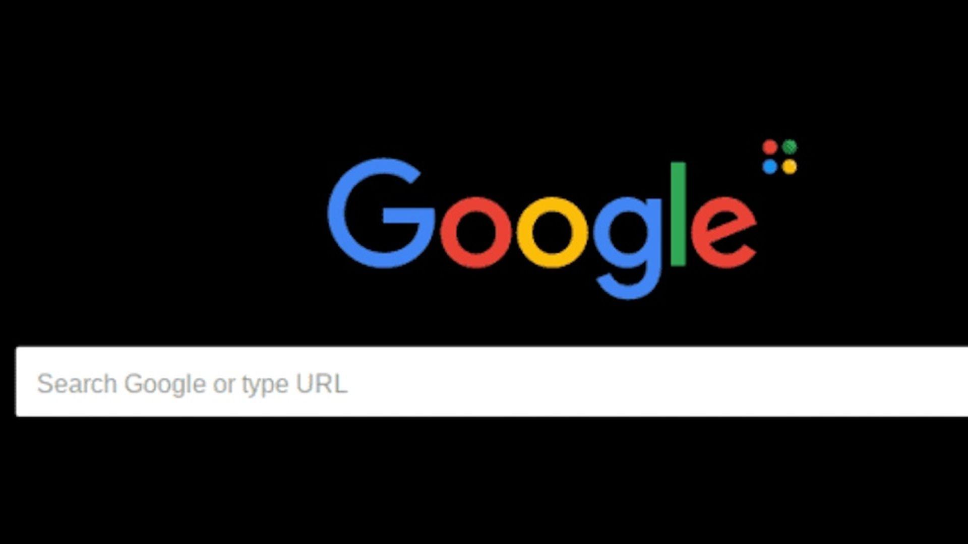Google Chrome z trybem ciemnym w macOS Mojave
