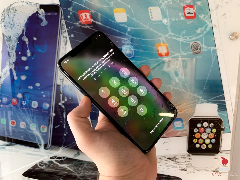 ae30c20c64bab1 Zbita szybka w iPhone X / XS / XS Max / Xr ? Wymień na oryginał w ...