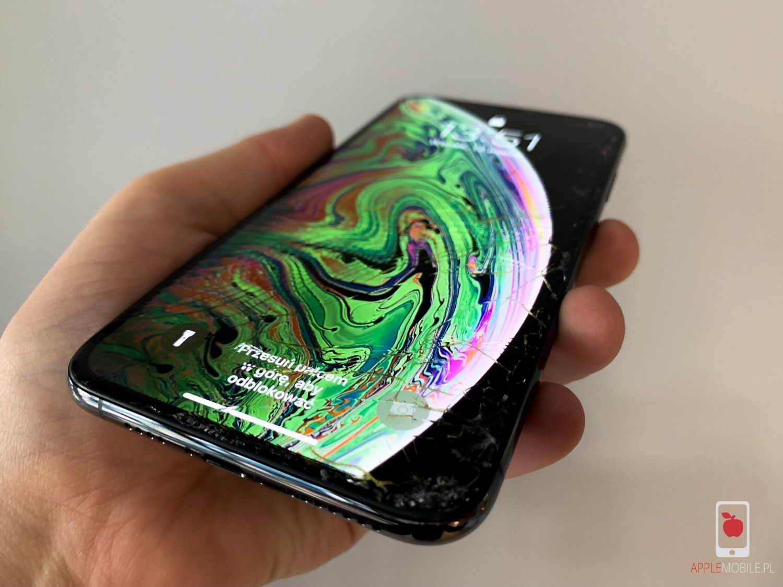 Wymiana szybk w iPhone X w Szczecinie serwis Apple Szczecin