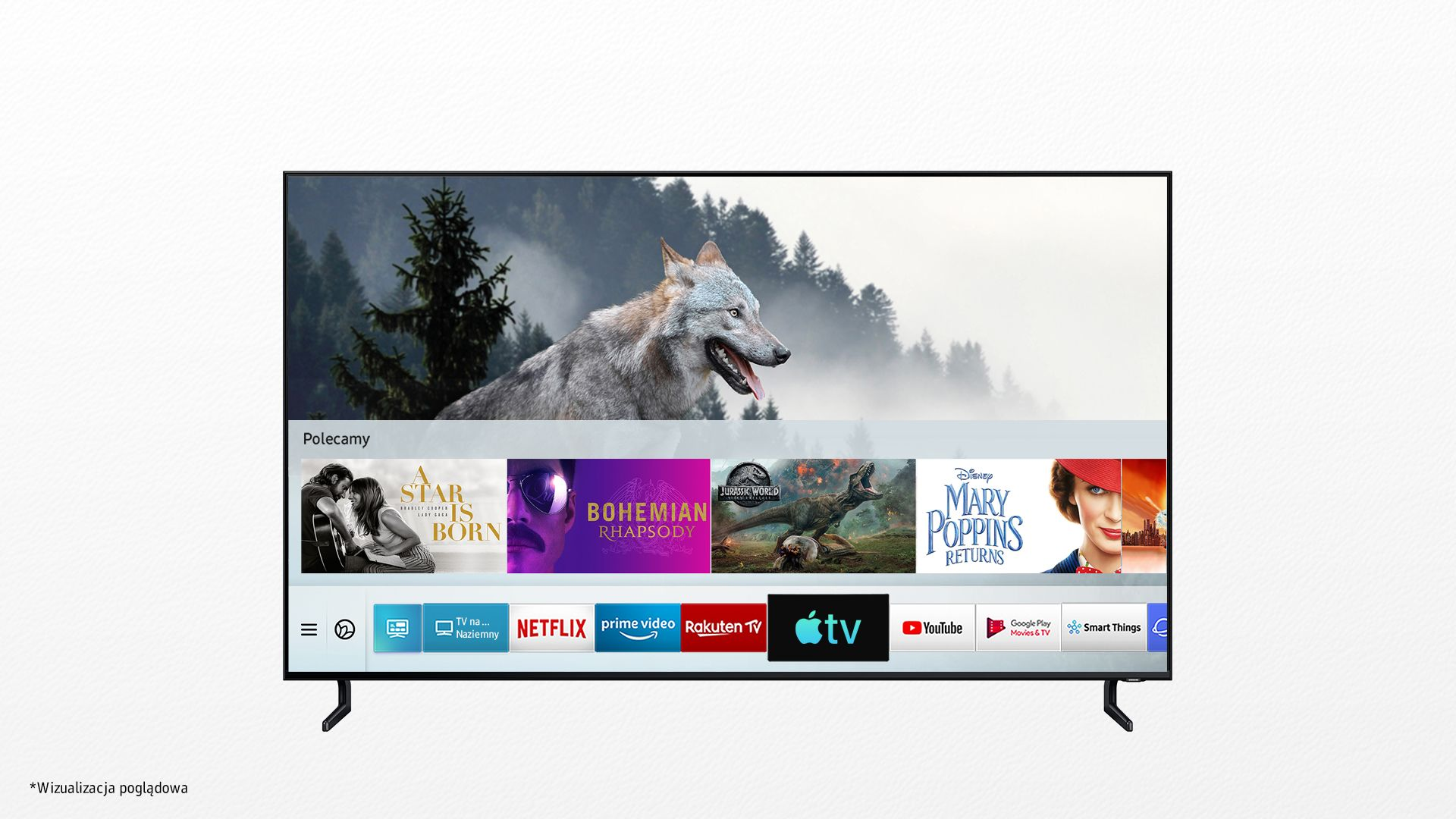 Aplikacja Apple TV i AirPlay 2 w telewizorach Samsunga