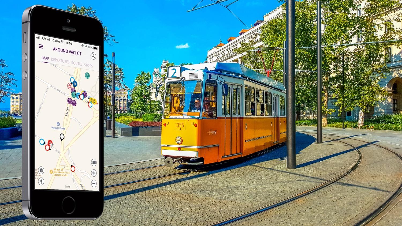 Aplikacja BKK Futar – komunikacja miejska w Budapeszcie w iPhone