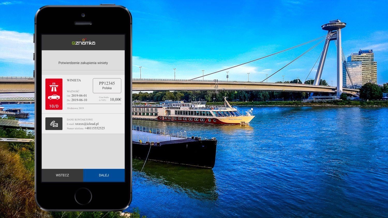 Jak kupić słowacką winietę w aplikacji na iPhone? – Eznamka