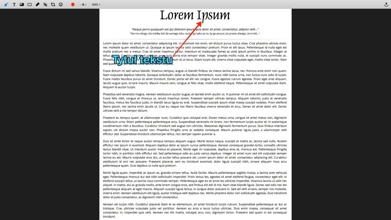 Jak dodać notatki do zdjęć przy użyciu Annotate dla macOS