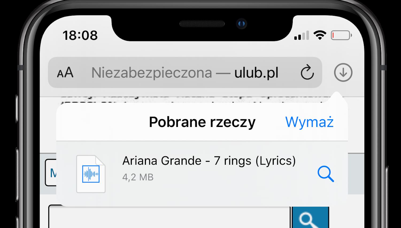 iOS 13 – Przez Safari możemy pobierać pliki!