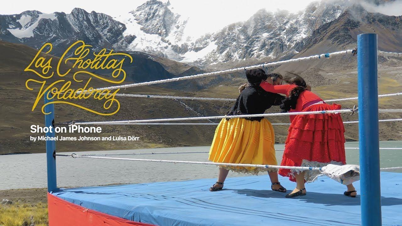 Zapasy kobiet w Boliwii nowy film z serii Shot on iPhone XS
