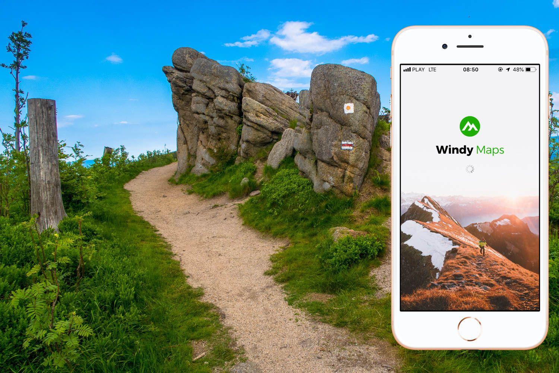 Windy Maps najlepsza nawigacja dla turysty
