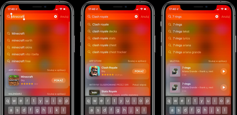 Sugestie Siri w Spotlight dostępne w innych krajach niż USA i UK!
