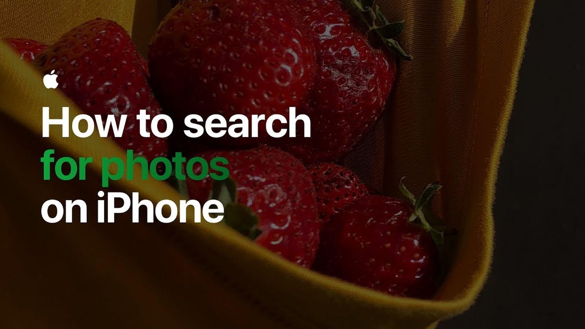 Poradnik Apple: Jak wyszukiwać zdjęcia na iPhonie