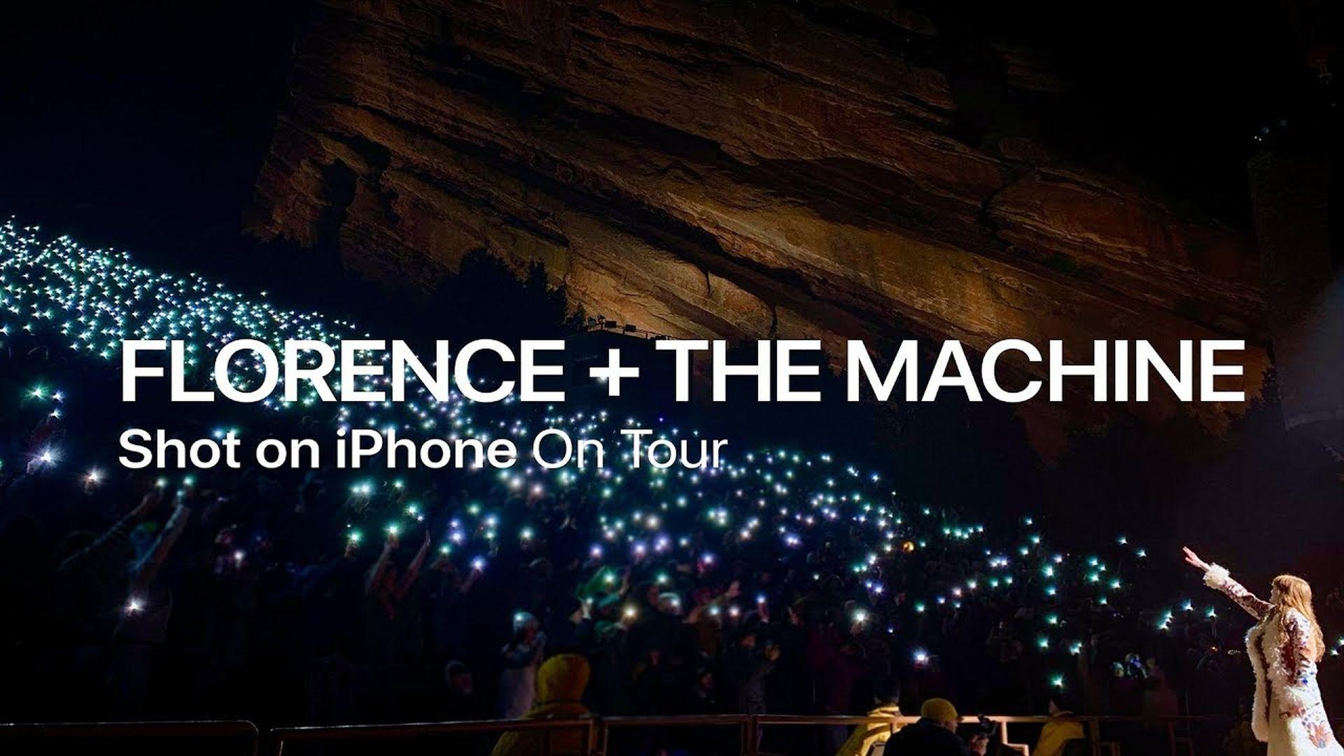 W reklamie Shot on iPhone 16 piosenkarzy i zespołów z całego świata