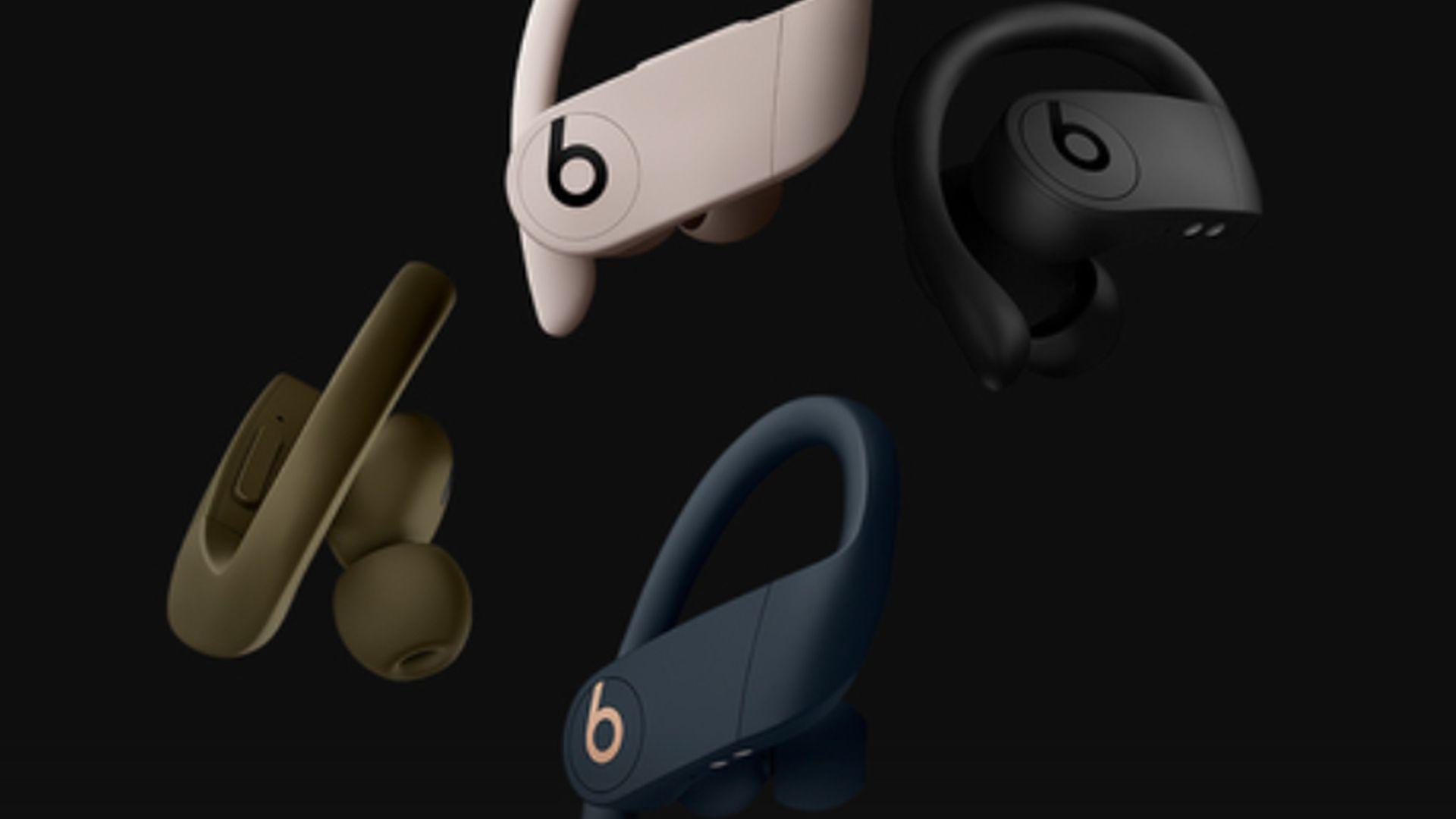 Dostępne nowe wersje kolorystyczne słuchawek Powerbeats Pro