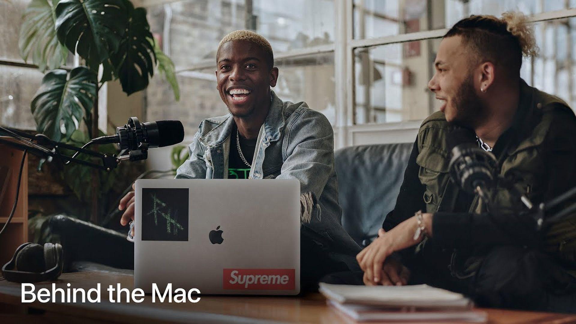 Nowa reklama z serii Behind the Mac w serwisie YouTube
