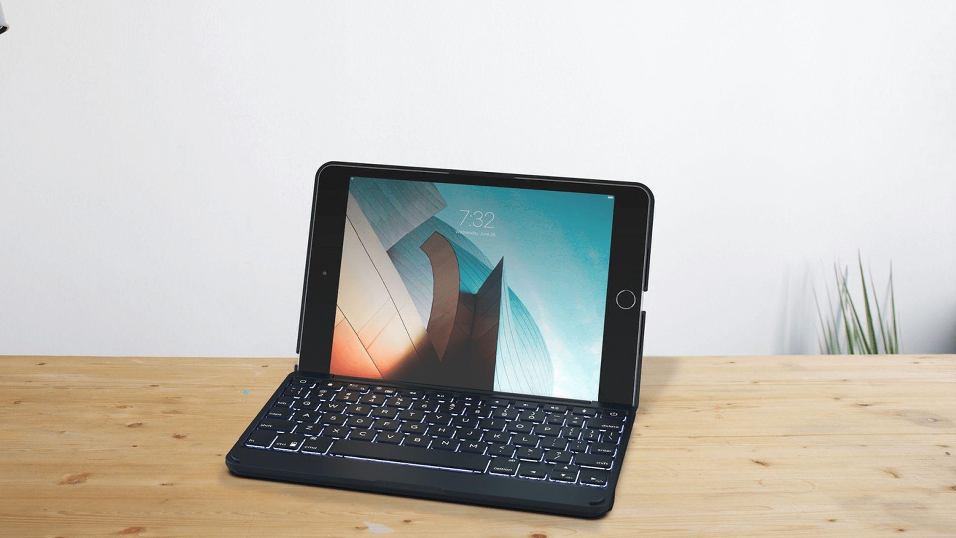 Nowe etui z klawiaturą dla iPada Mini 5 od firmy Zagg