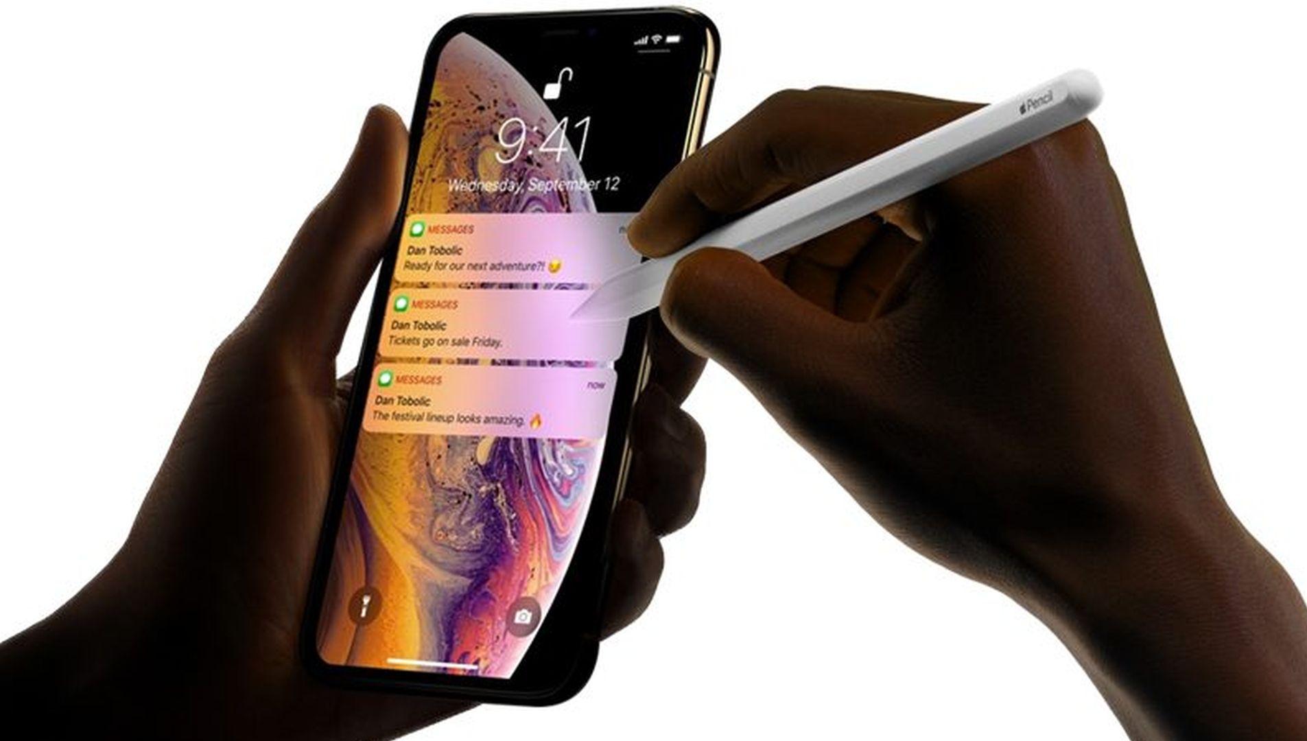 W tym roku iPhone'y ze wsparciem dla Apple Pencil