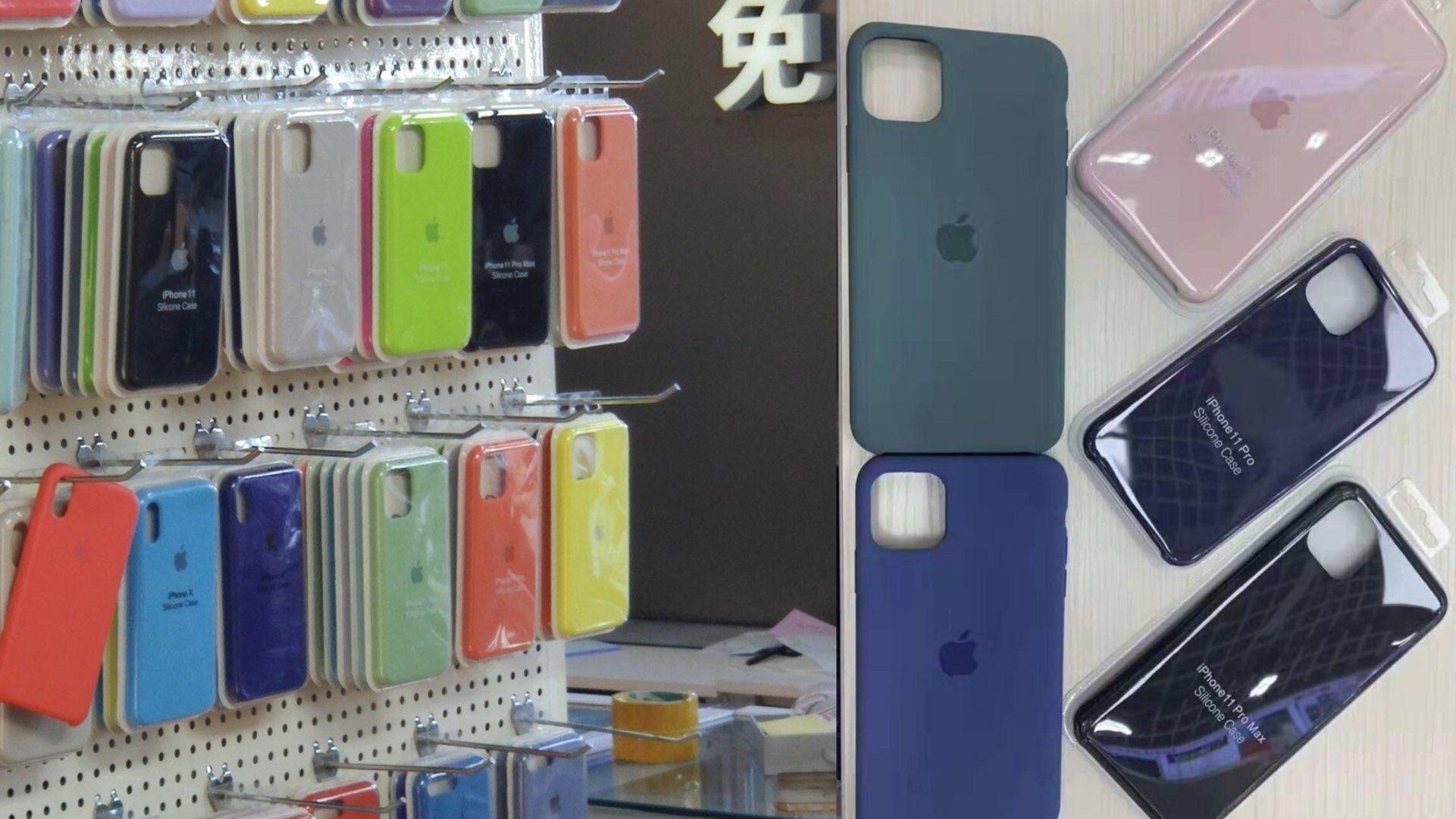 Zdjęcie wyglądu etui do tegorocznego iPhone'a 11 Pro