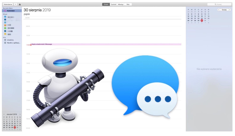 Jak zarchiwizować wiadomości iMessages za pomocą Automatora?