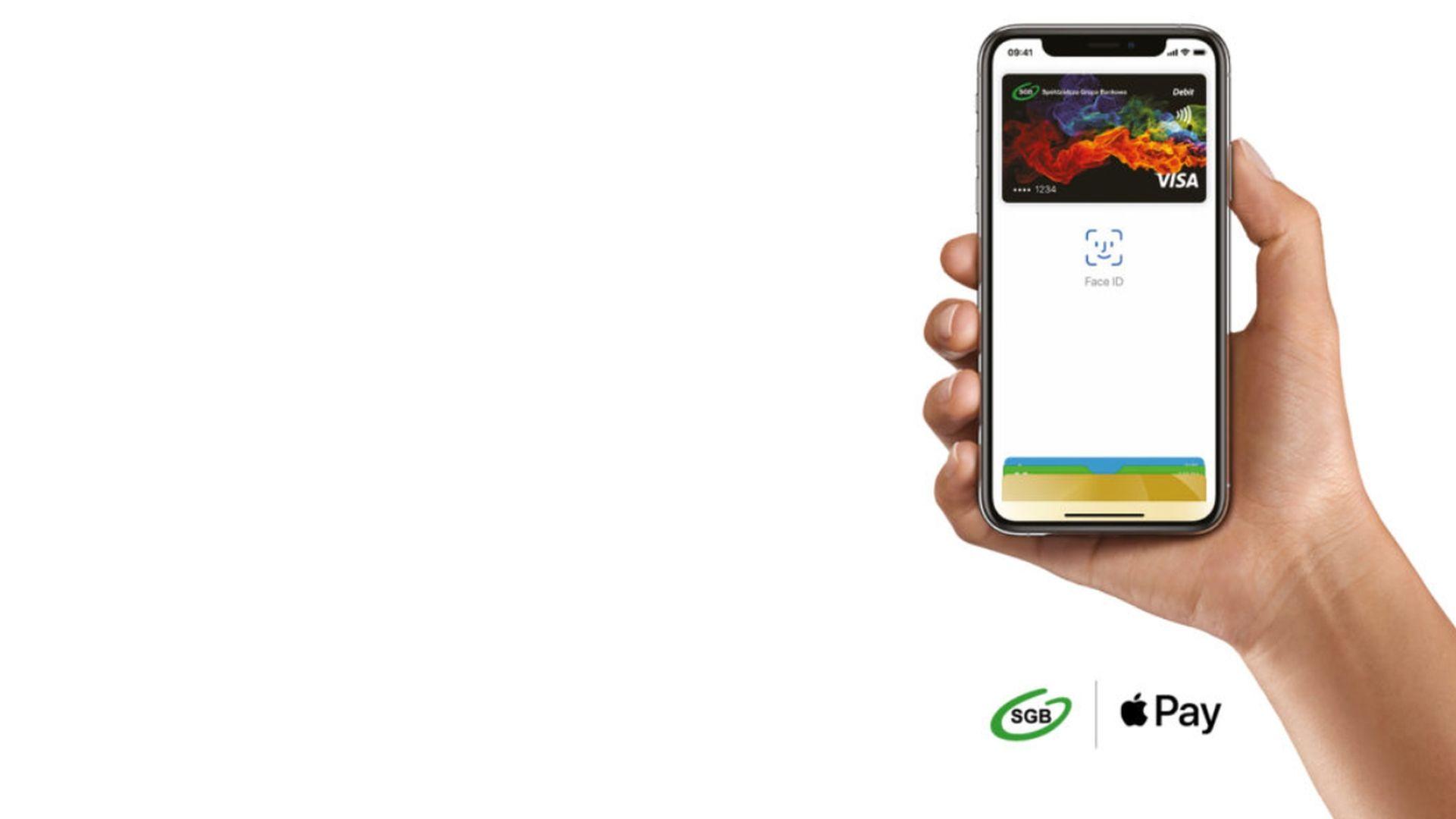 Dostępna płatność przez Apple Pay w Spółdzielczej Grupie Bankowej