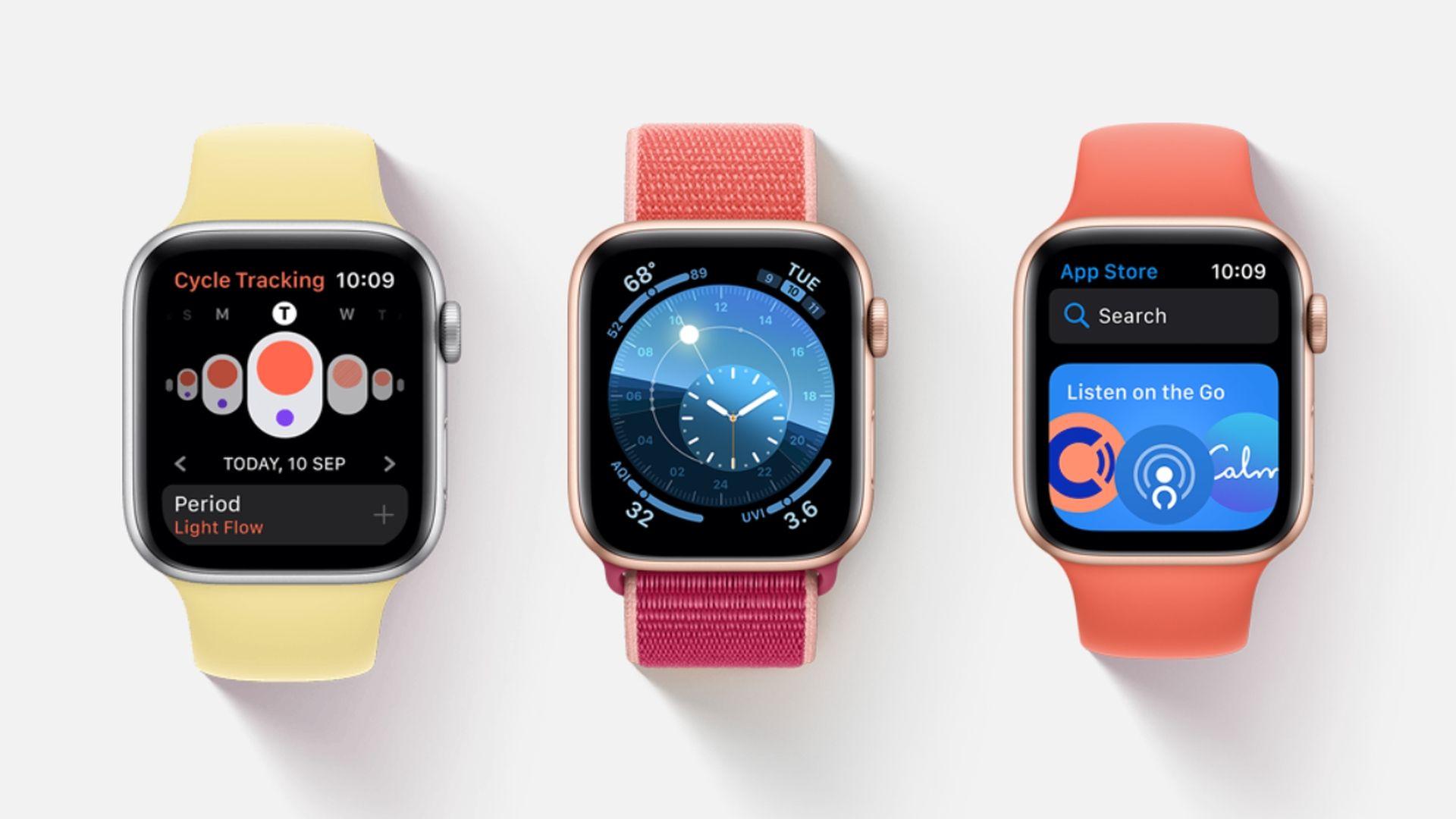 Firma Apple wydała aktualizację systemu watchOS 6.1