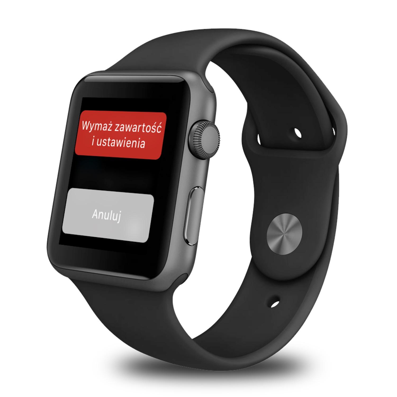 Jak zresetować Apple Watch