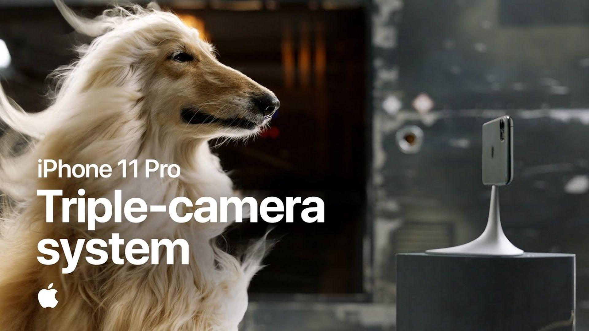 Kolejna reklama przedstawiająca iPhone'a 11 Pro