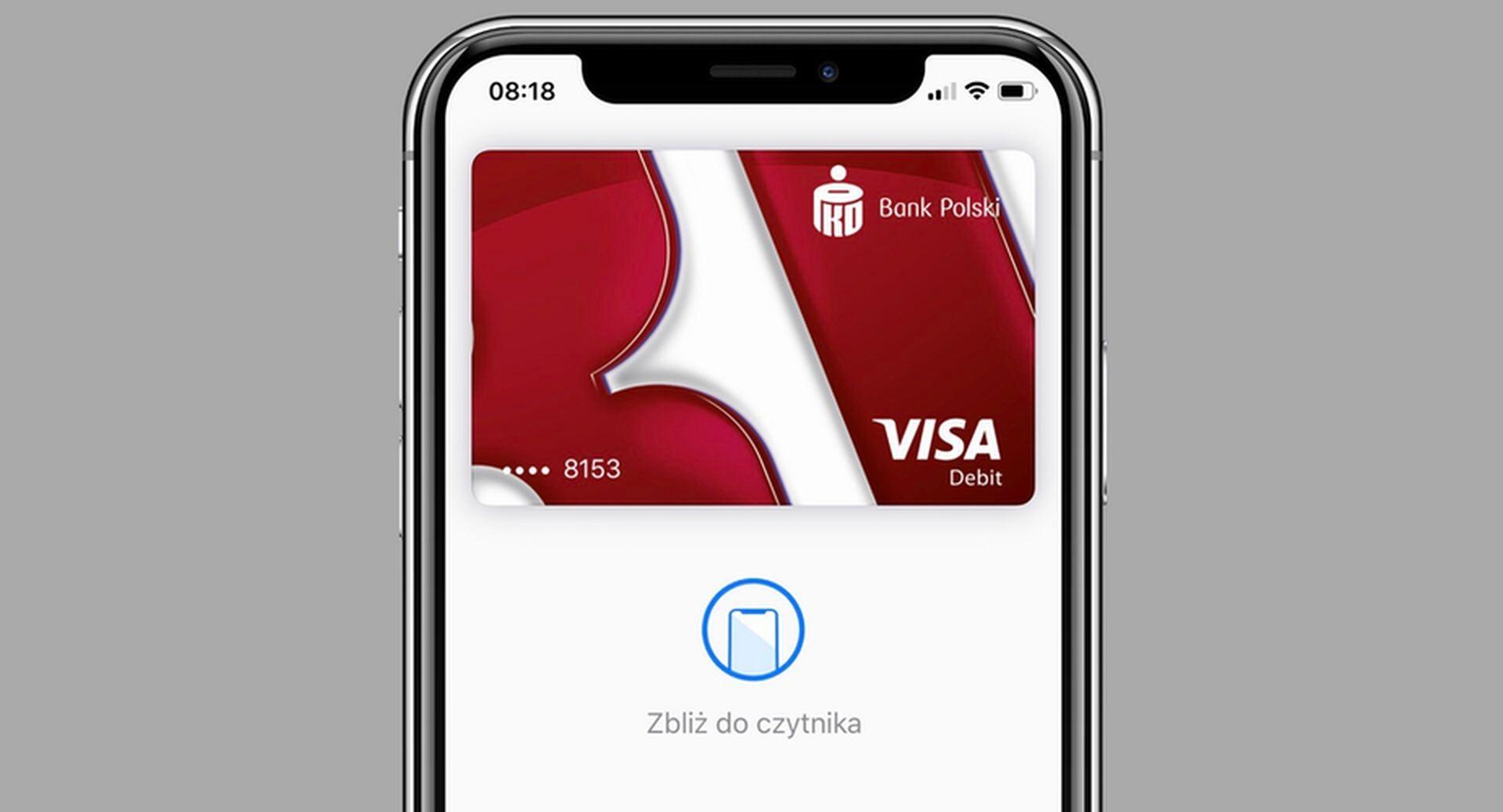 Niedługo Apple Pay trafi do klientów biznesowych w PKO