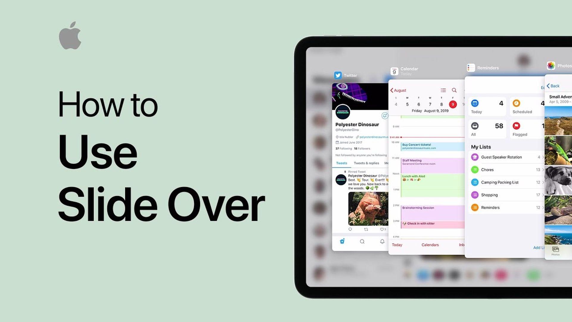 Nowe filmy w serwisie YouTube prezentujące funkcje iPada