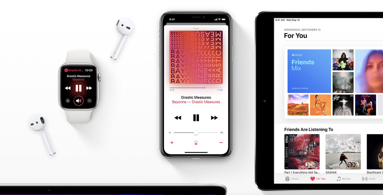 Apple Music z obsługą Chromecast!