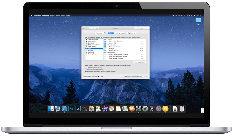 Jak edytować i dodawać skróty klawiaturowe w macOS