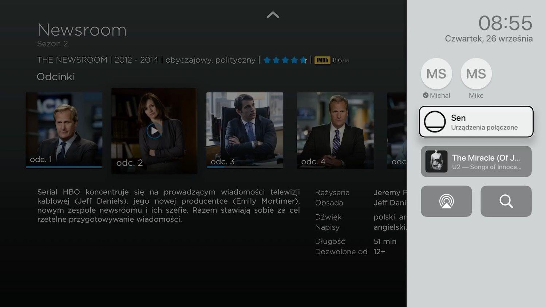 Jak dodać kilku użytkowników do Apple TV