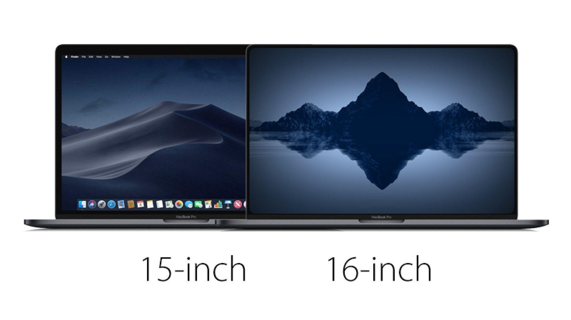 16 calowy MacBook Pro odnaleziony w macOS Catalina 10.15.1 Beta