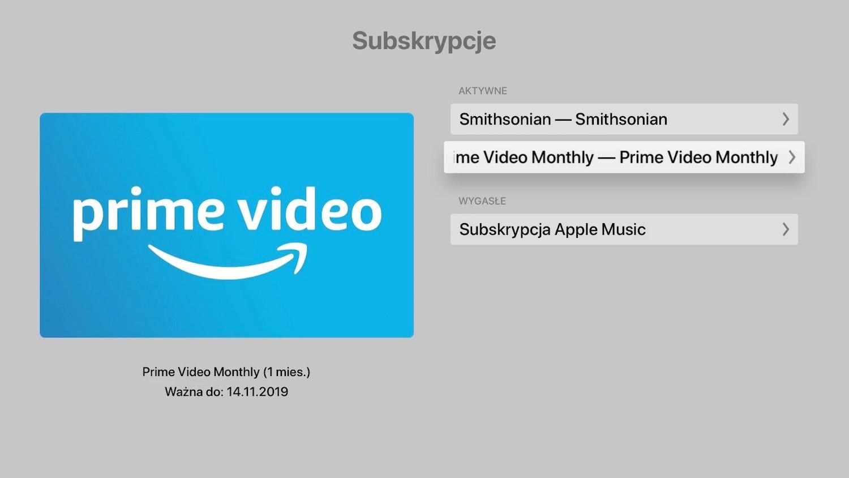 Jak anulować subskrypcję na Apple TV?