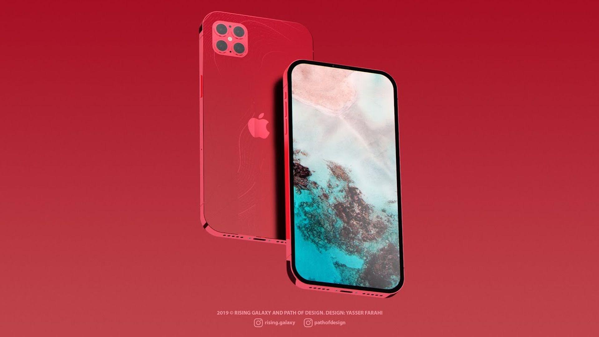 Kolejna koncepcyjna wizja wyglądu iPhone'a 12 Pro na filmie