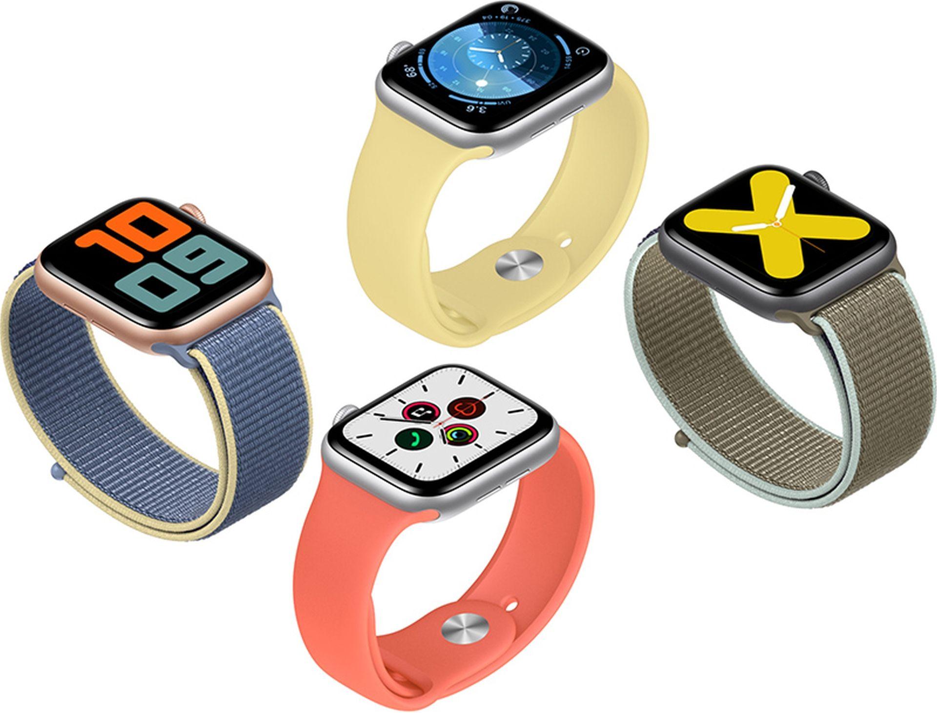 Informację o zegarkach Apple Watch Series 6