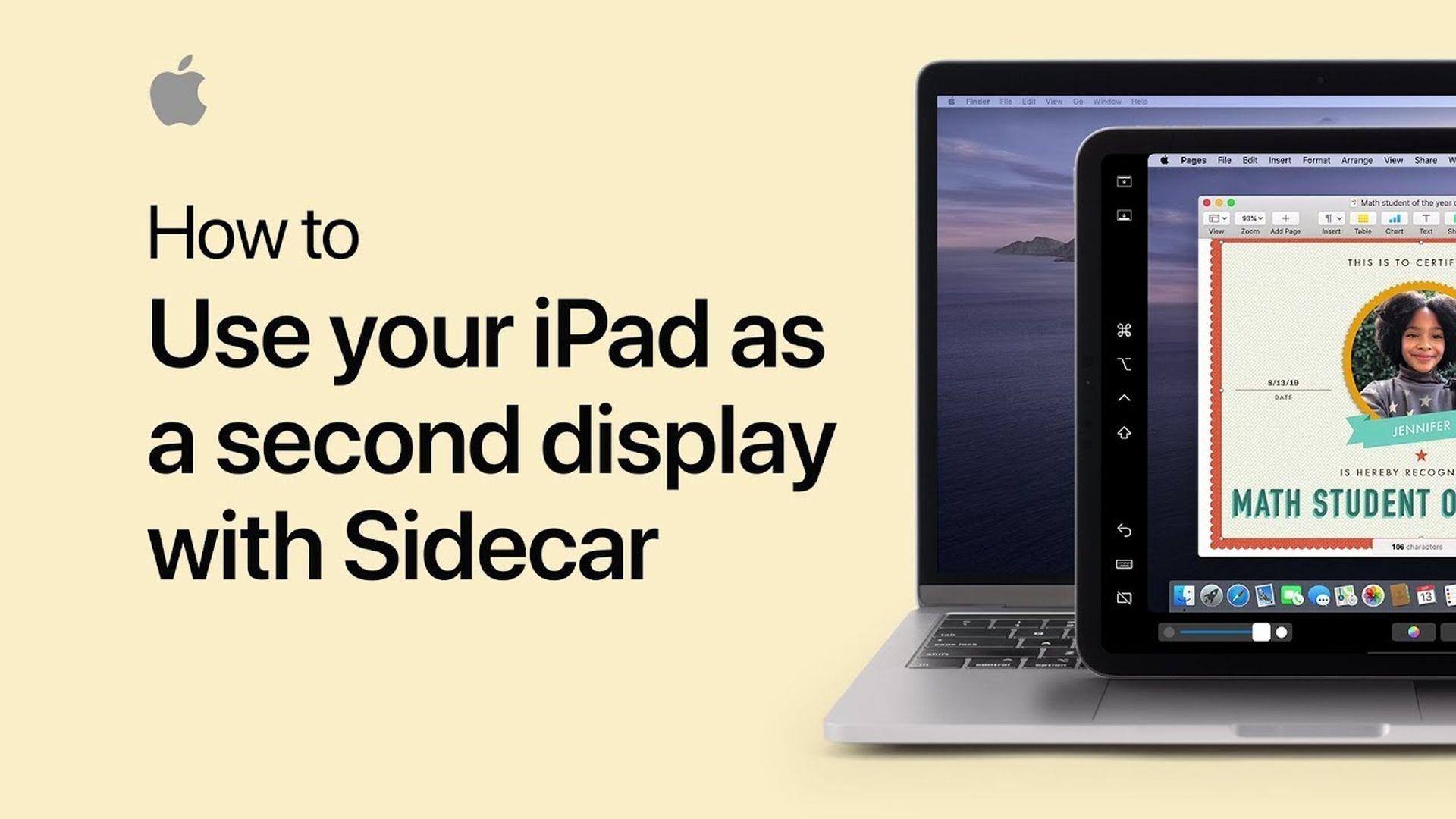 Poradnik Apple: Jak skorzystać z iPada jako dodatkowego ekranu w macOS