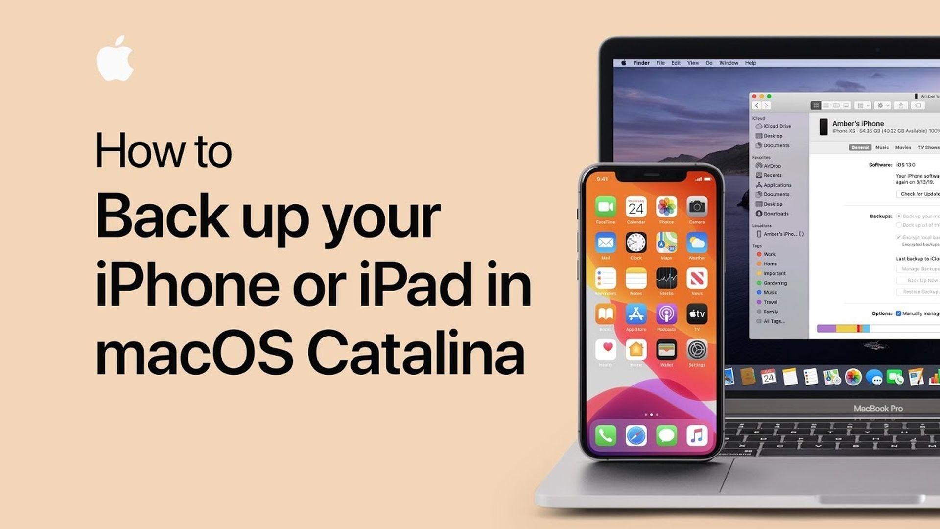 Poradnik Apple: Jak stworzyć backup iPhone'a na Macu z macOS Catalina