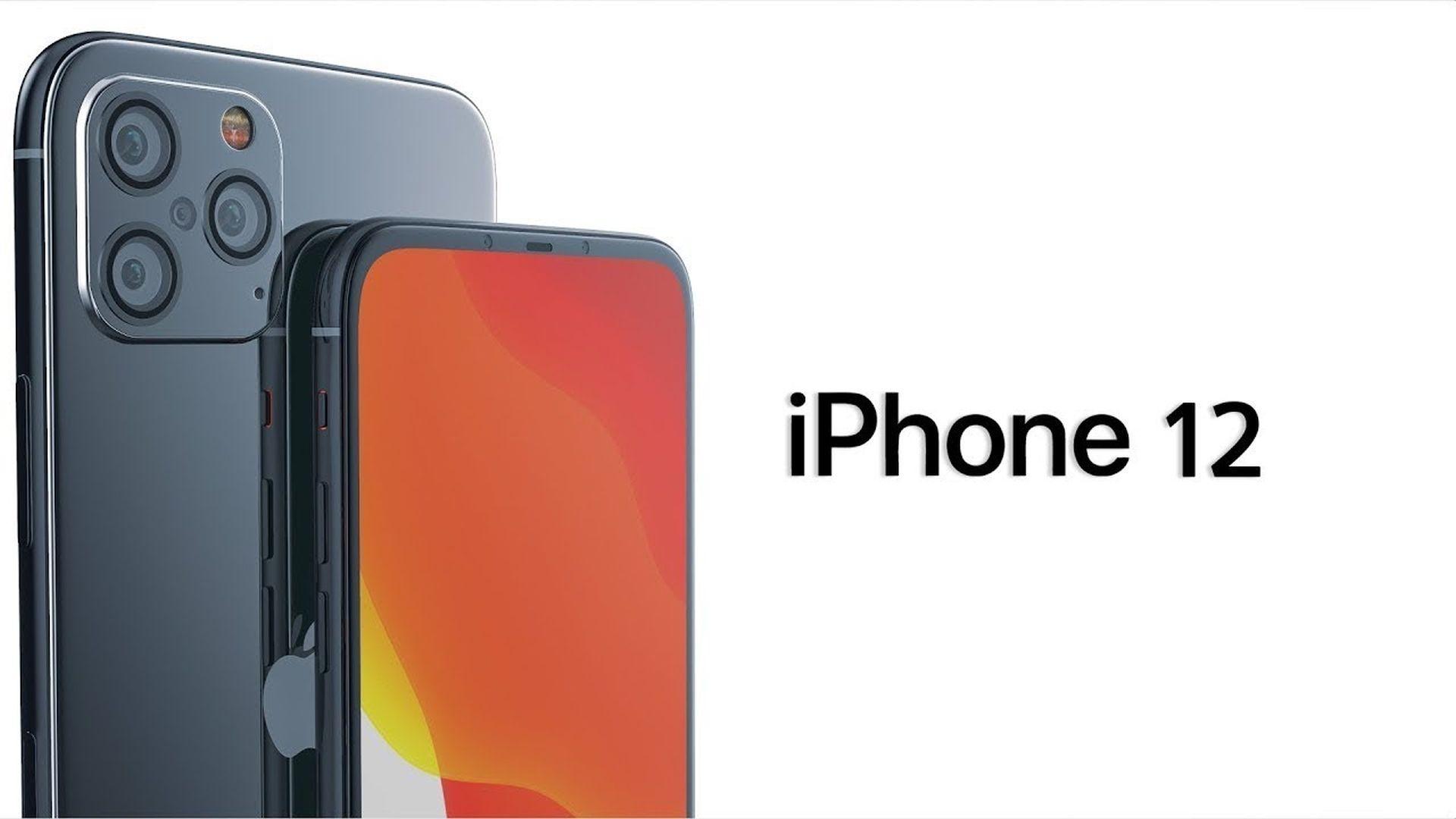Prawdopodobny wygląd iPhone'a 12 bez wcięcia w ekranie
