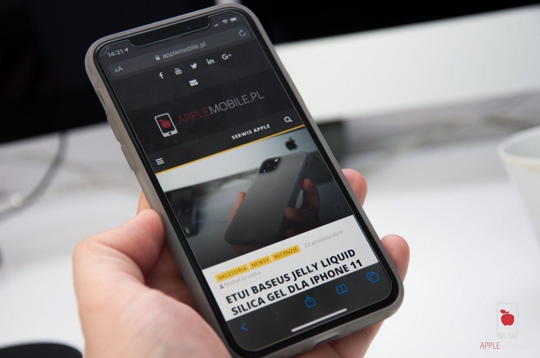 Recenzja ZAGG Invisible Shield GLASS+ dla iPhone 11 Pro  – ty je tłuczesz, producent wymienia na nowe w ramach dożywotniej gwarancji