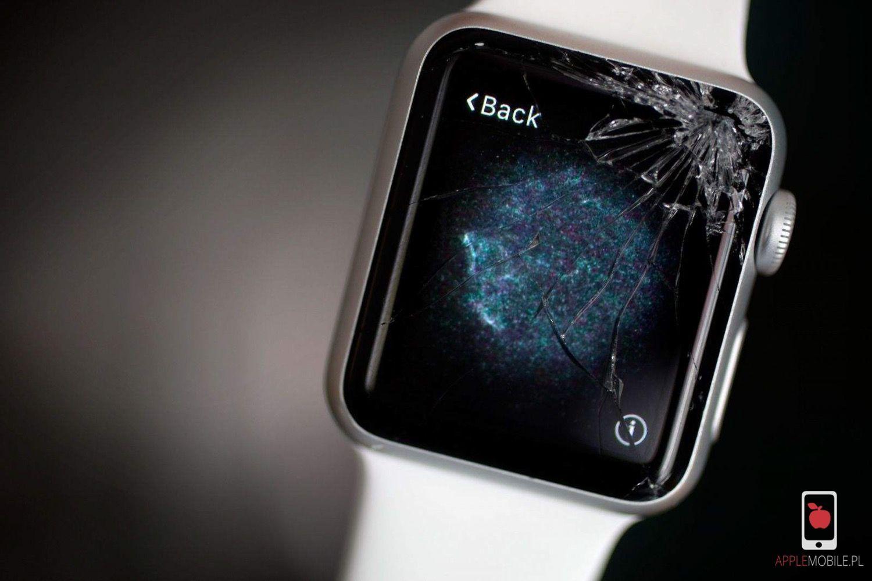 wymiana szybki w zegarku Apple Watch