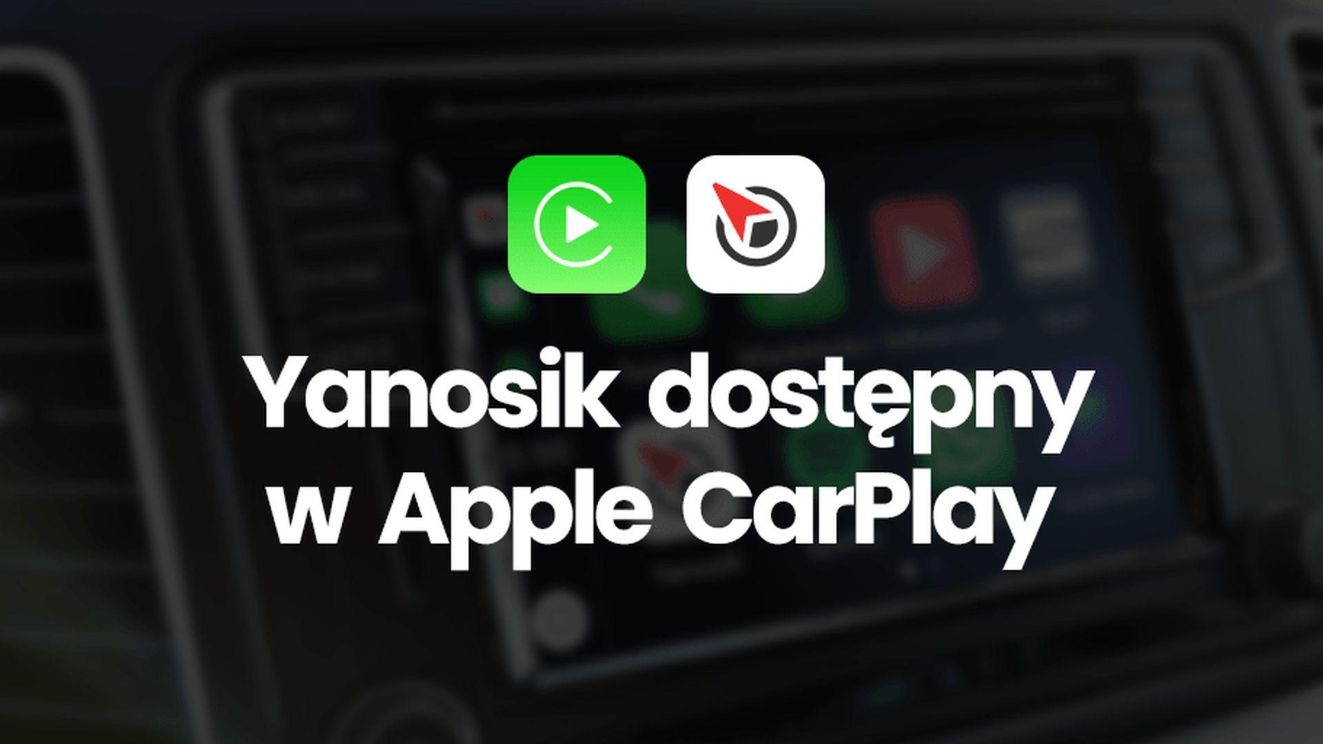 Yanosik nareszcie jest już dostępny na platformie CarPlay