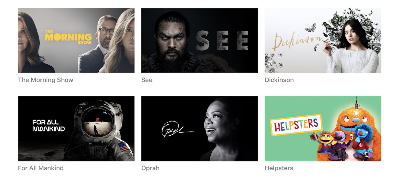 AppleTV+ – informacje.