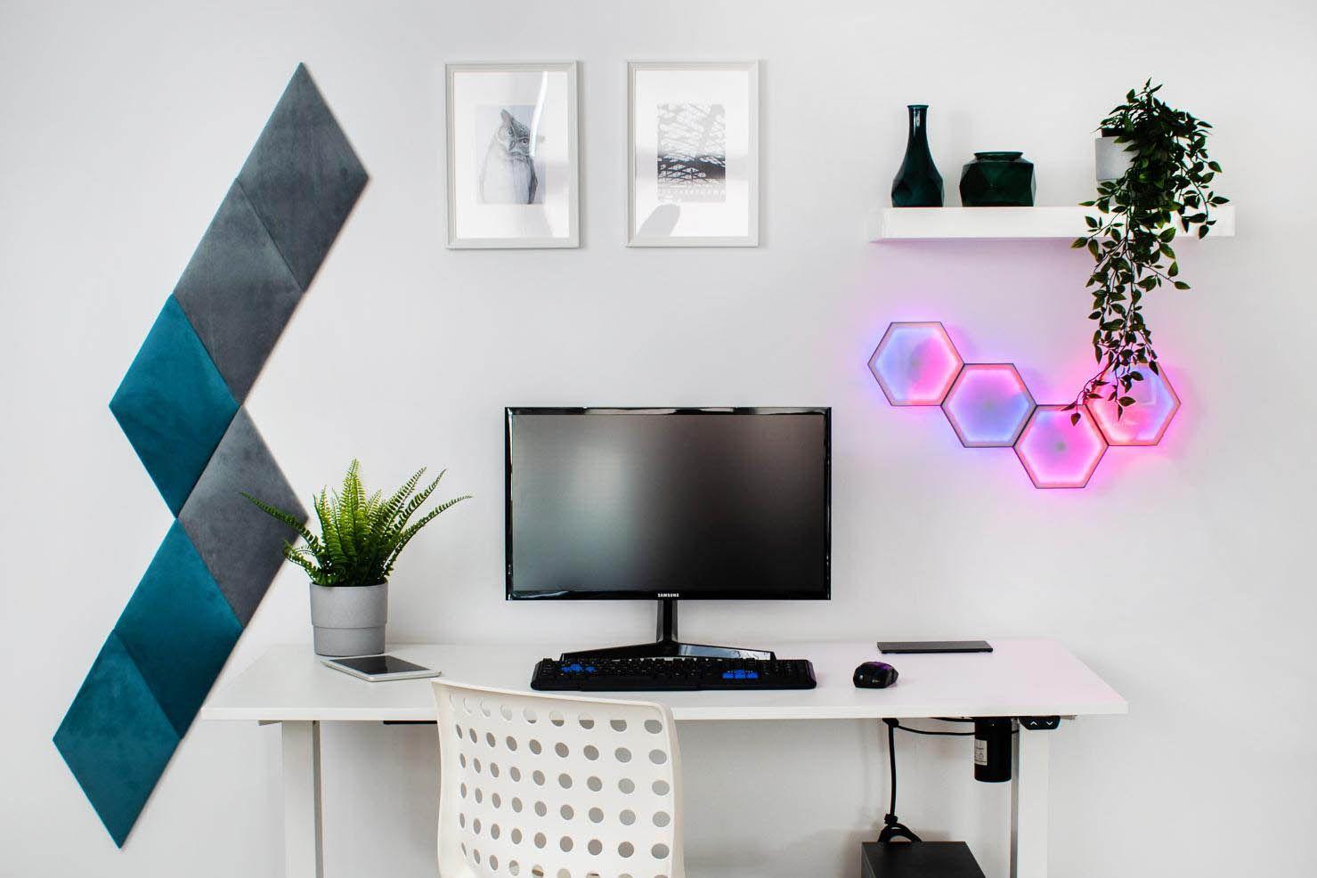 Personalizowane biurko komputerowe sterowane z iPhone – mebel stworzony dla Ciebie