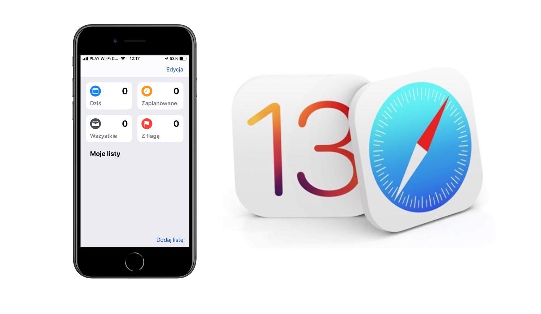 Nowe funkcje w Przypomnieniach dla iOS 13