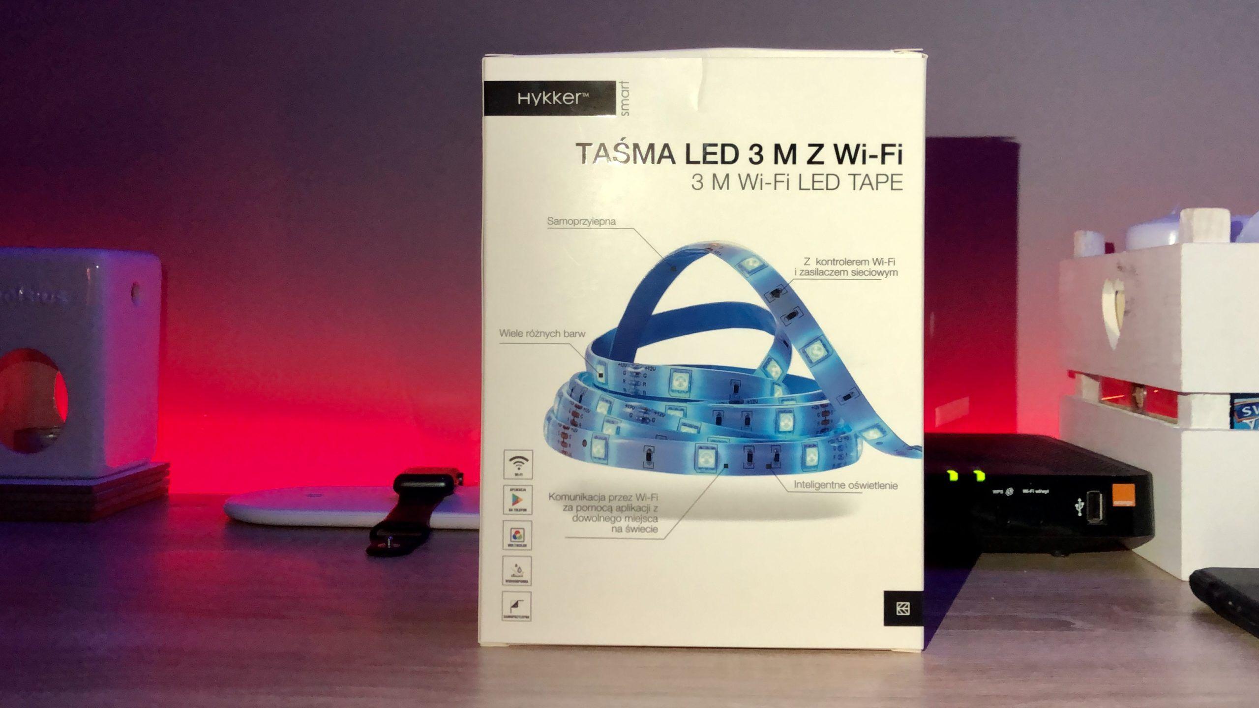 Taśma LED Hykker – czy to zadziała z iPhonem?!