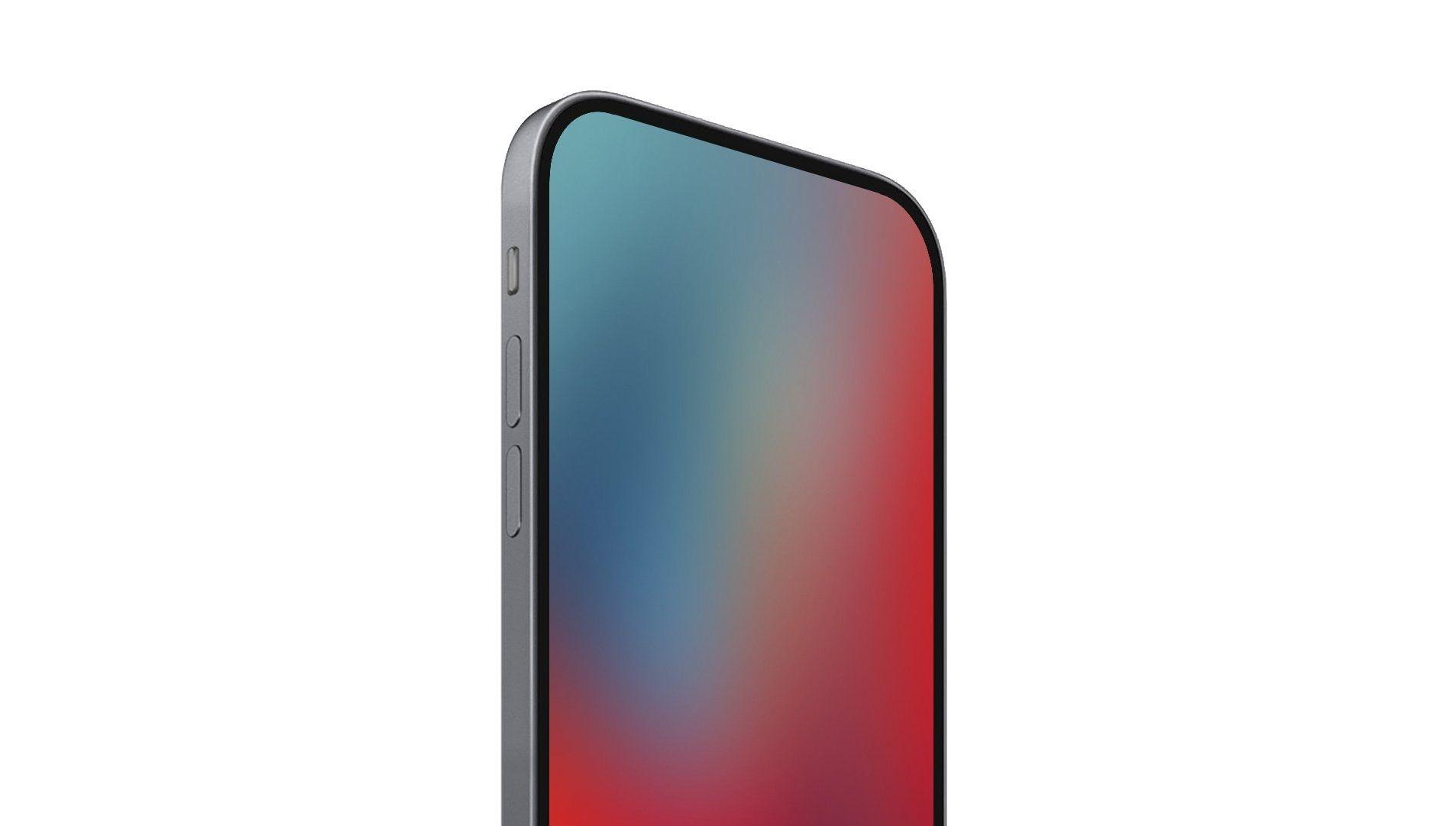 Idealny wygląd iPhone'a przyszłości pokazany na renderach
