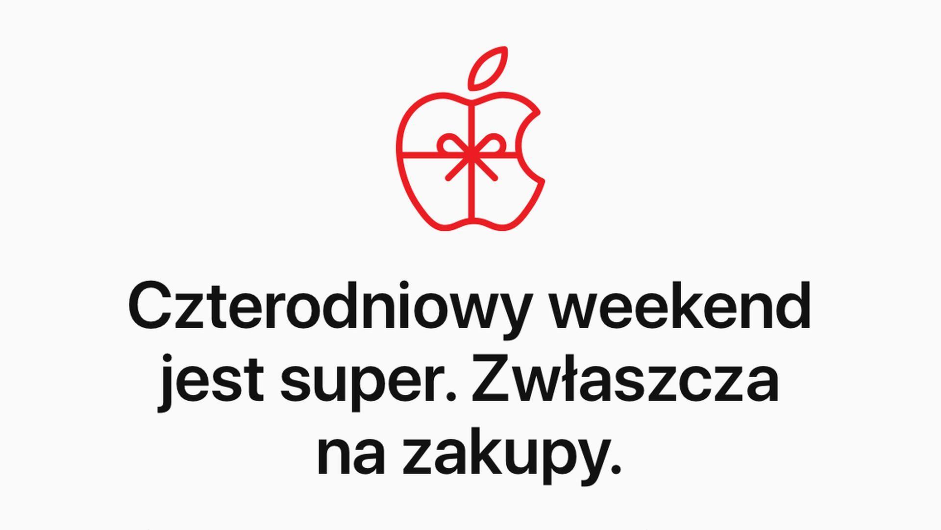 Karty upominkowe od Apple z okazji Czarnego Piątku