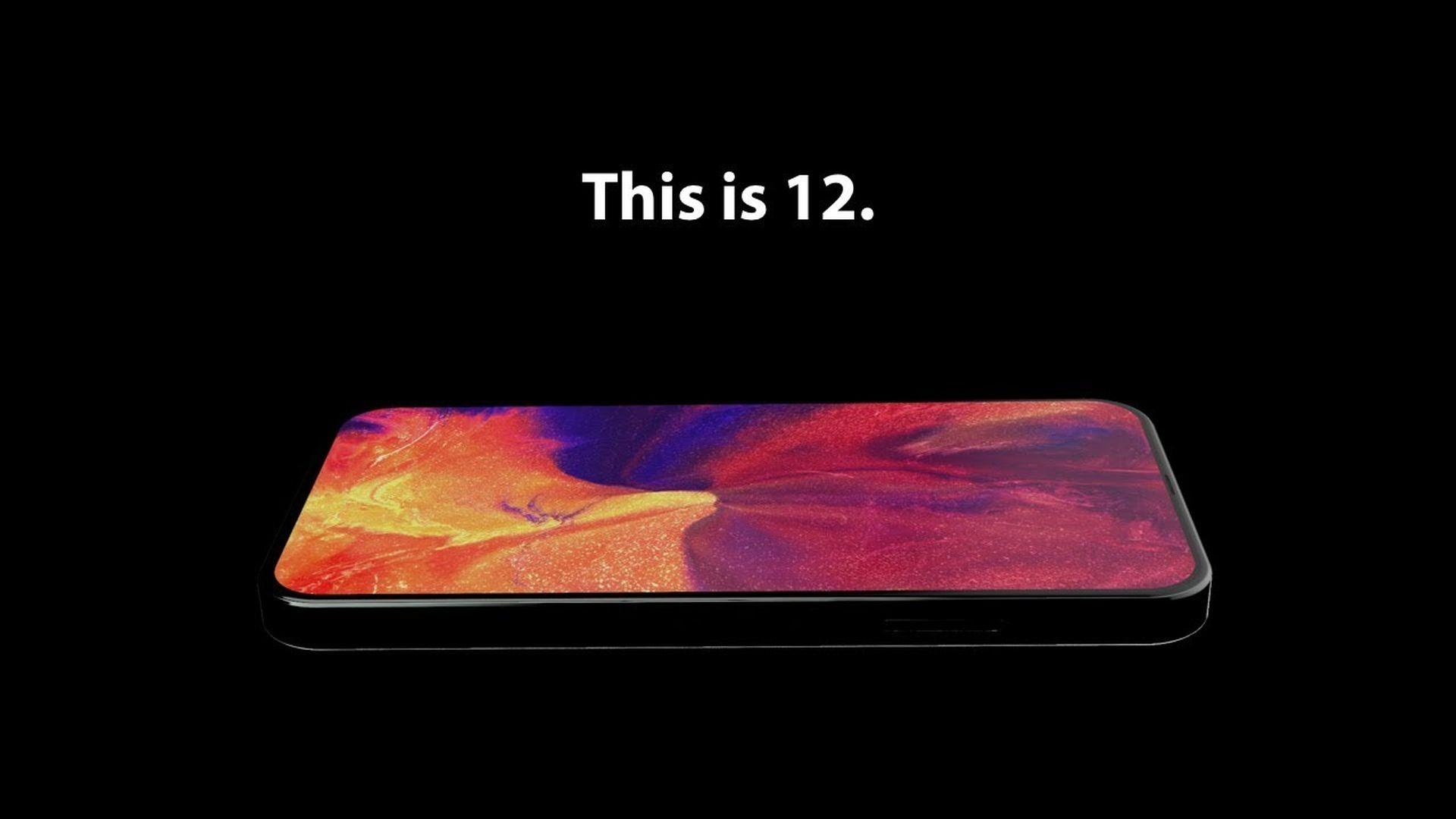 Najnowsza koncepcyjna wizja iPhone'a 12 na filmie