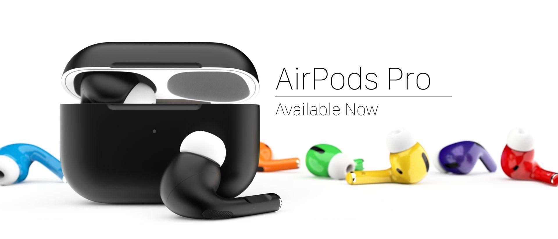 Nowe kolory AirPodsów Pro w ofercie firmy ColorWare