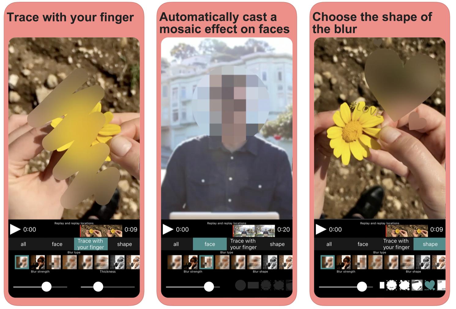 Mosaic – wymaż twarz na każdym wideo!