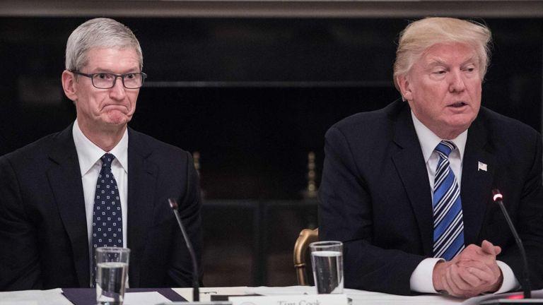 Trump chce, aby Apple zaangażowało sięw budowę infrastruktury 5G w USA
