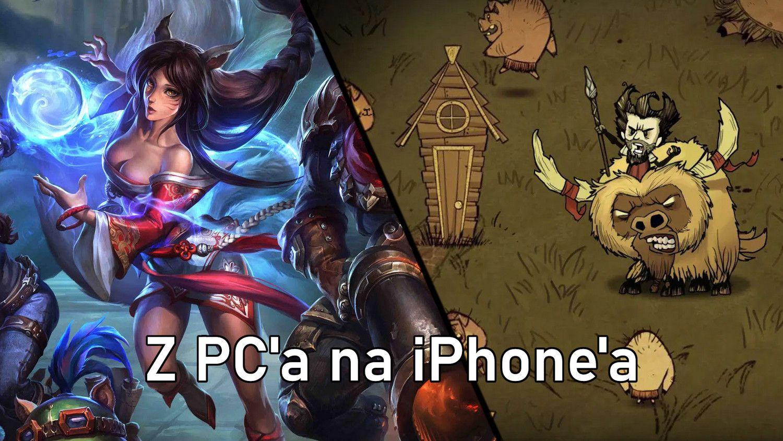 Gry na PC, które doczekały się swojej wersji mobilnej w App Store