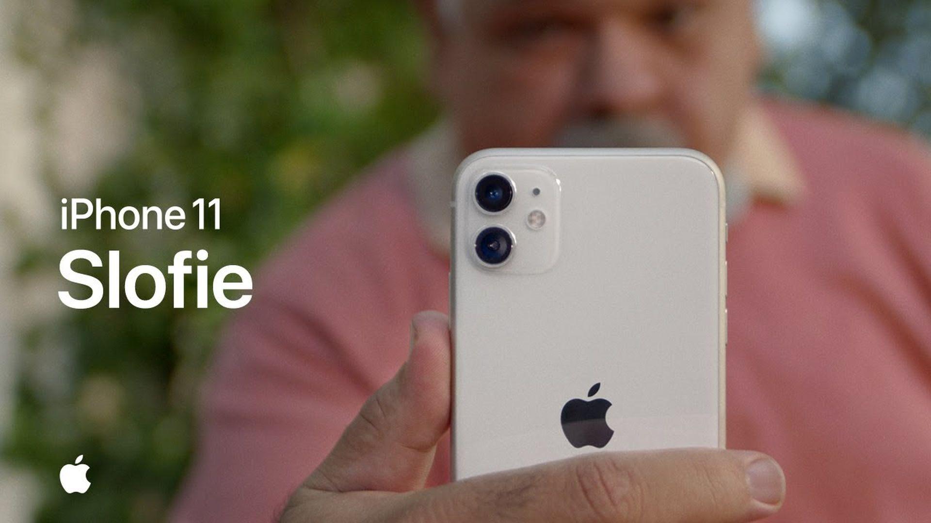 Nowe reklamy iPhone'a 11 przedstawiające funkcje nagrywania slofie